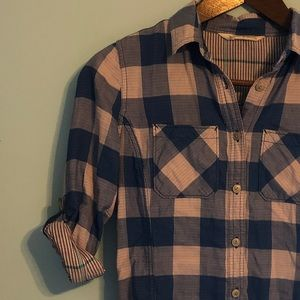 WOOLRICH | Flannel Button Down | Small